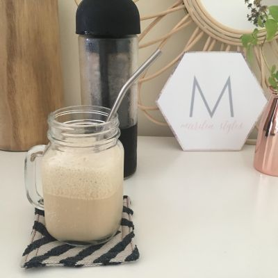 How to Make Iced Bulletproof Coffee in 3 Minutes