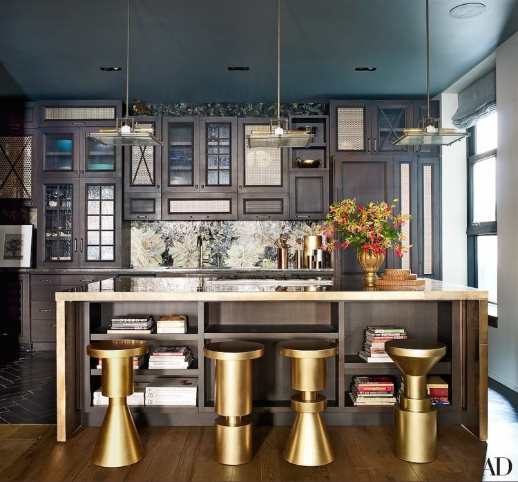 dark kitchen, elegant kitchen, john legend