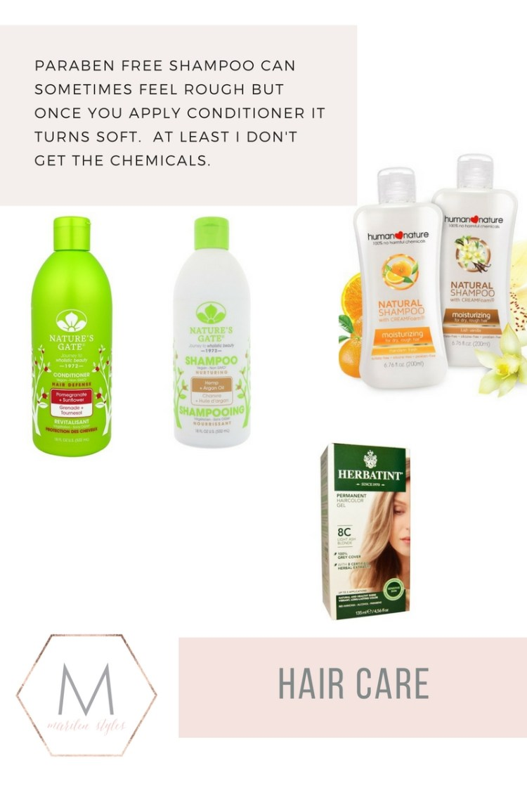 paraben free hair products