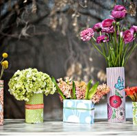 Tutorial - Vasos com Papel