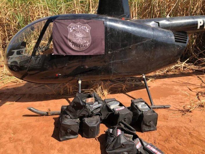 Polícia prende dois por tráfico de cocaína em helicóptero • Marília Notícia