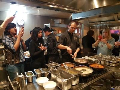 Foodbloggers in actie