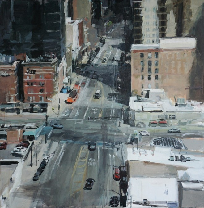 #paintings of chicago #urban paintings # contemporary art