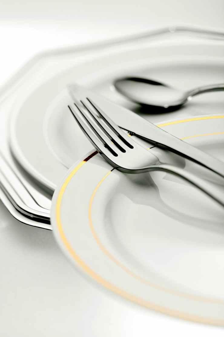 blur breakfast close up cutlery