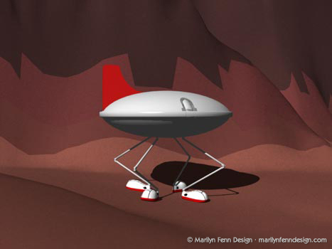 Marvin the Martian's Ship