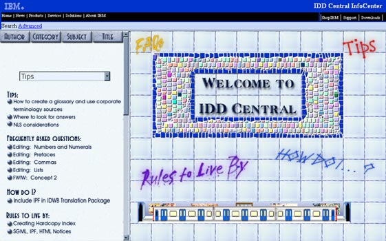IDD Central Website