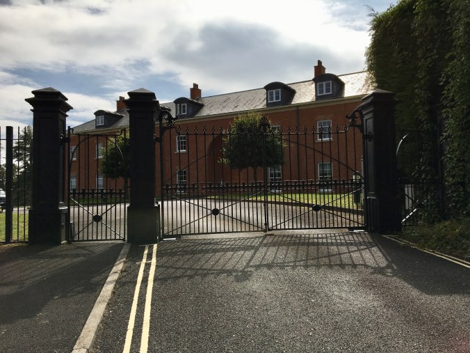 The Mount gated housing in Chepstow.