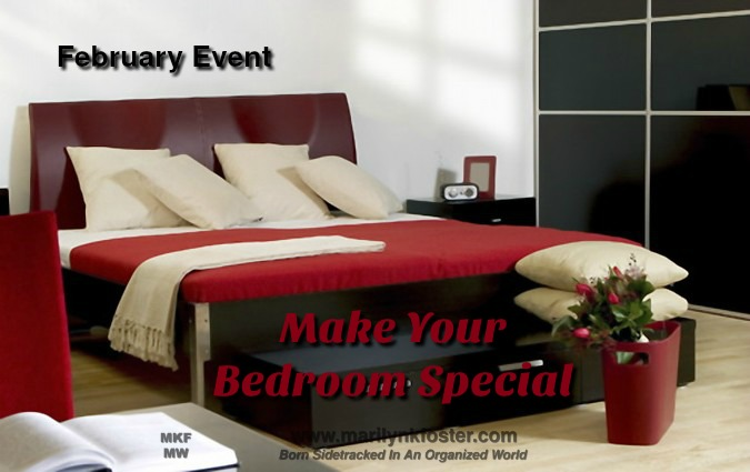 february event make your bedroom special