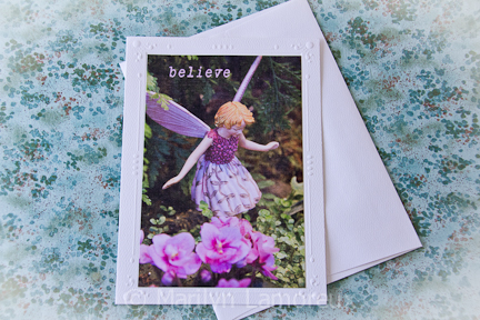 Garden Fairy Photo Card