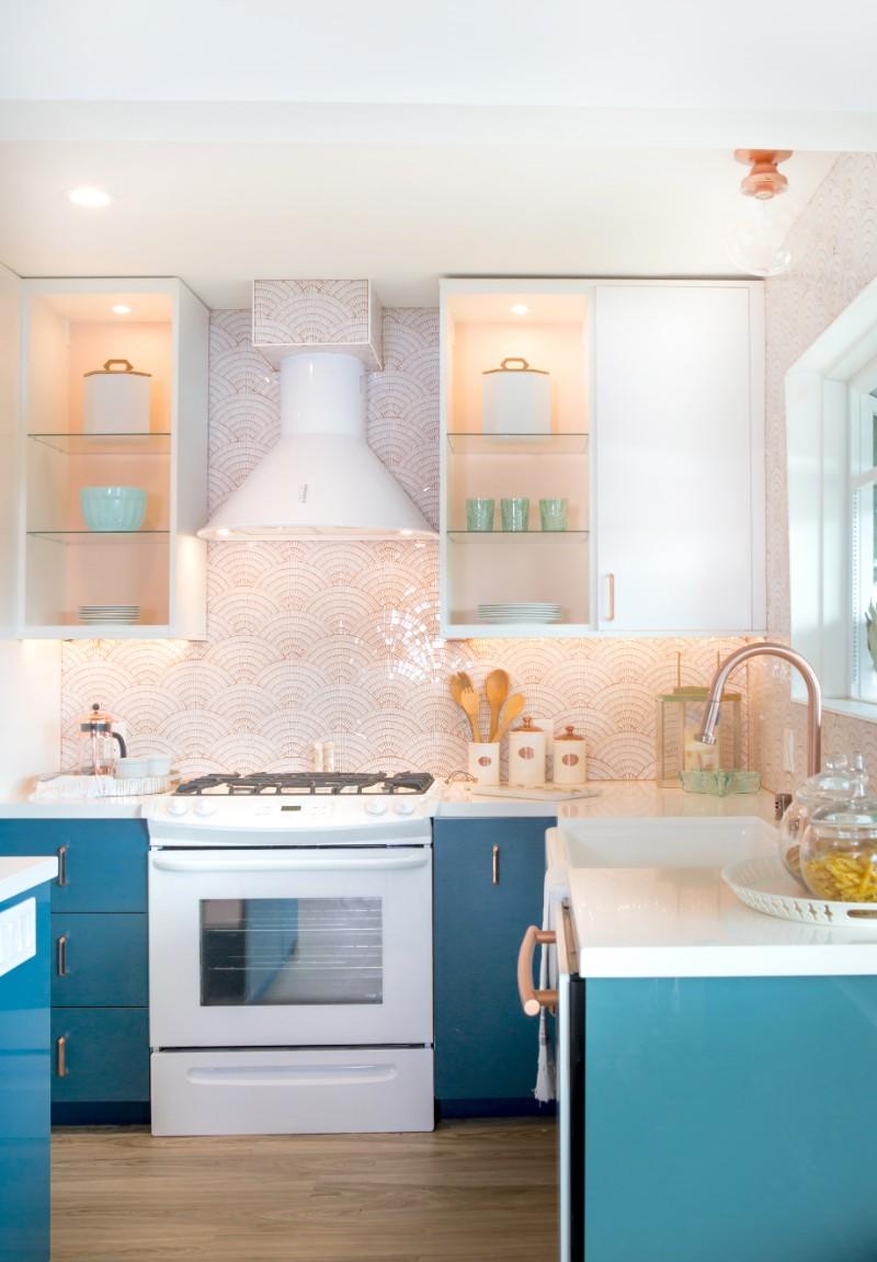 HGTV Beach Chic Instant Kitchen Design Plan  Marilynn
