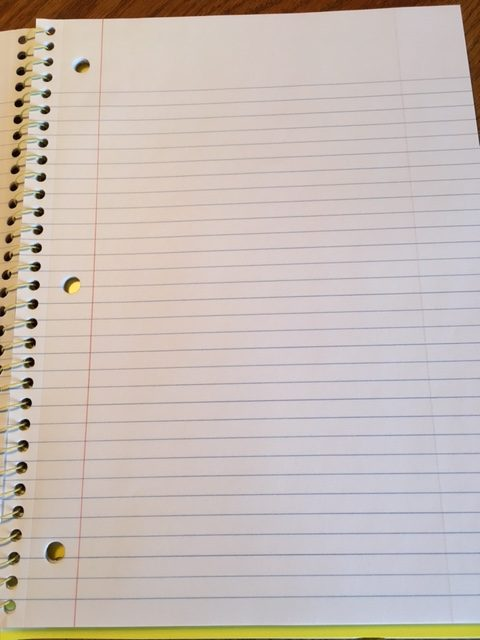What Do Notebook Paper and a Hardwood Floor Have in Common?