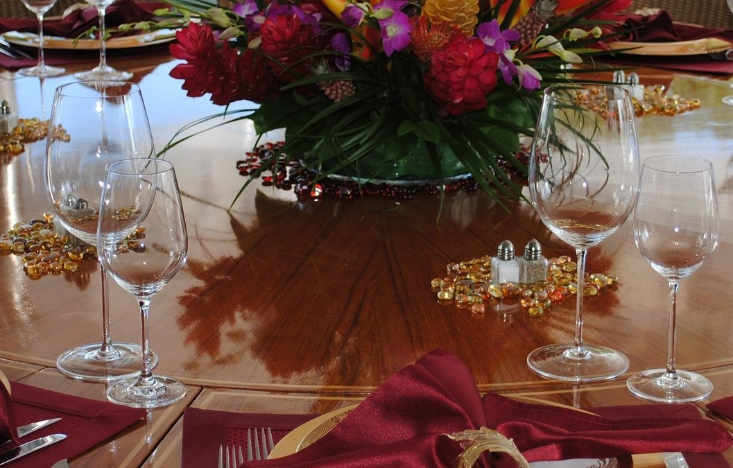 Table settings: What's Missing? It's Near-Here