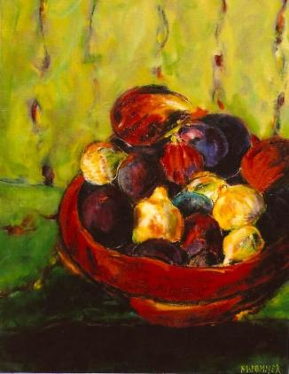 Bowl of Figs 16x20