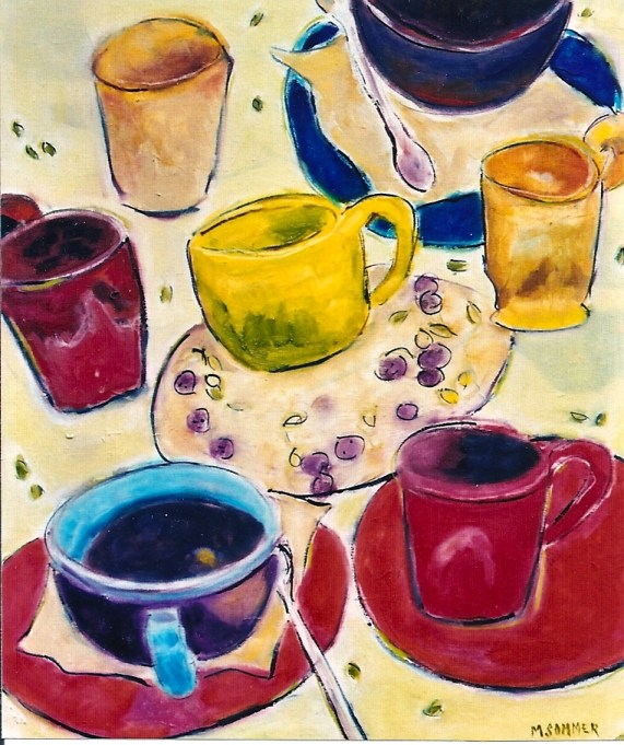 Cups 16x20