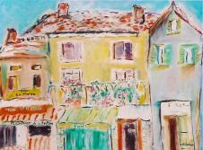French Village 24x30