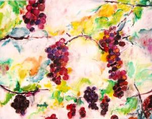 Grape Vines 16x20