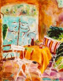 On the Terrace 25x30