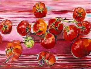 One Green Tomato 18x24