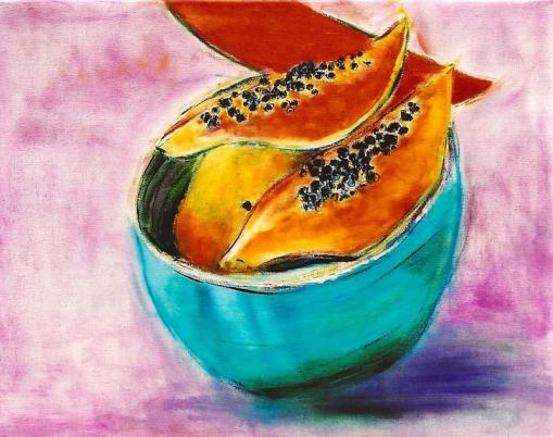 Papaya Slices 16x20