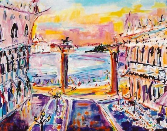 's Square, Venice 24x30