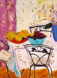 Still Life with Cherries 30x40