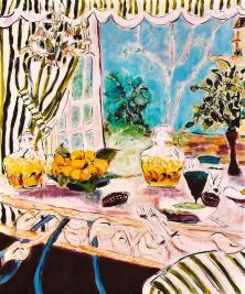 Still Life with Lemons 30x36
