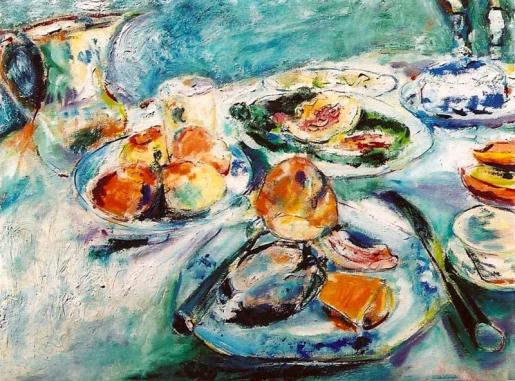 Still Life with Mussels 24x30