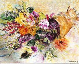The Bountiful Bouquet 20x24