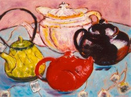The Teapot Party 20x24