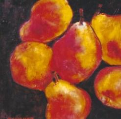 Harvest Pears 12x12