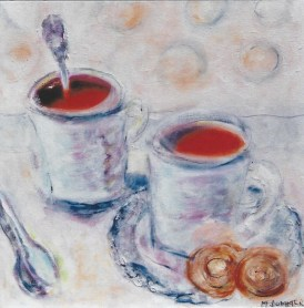 Coffee with Cookies 12x12