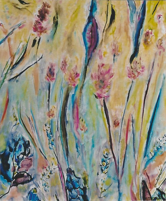 Locoweed Wildflowers 18x24
