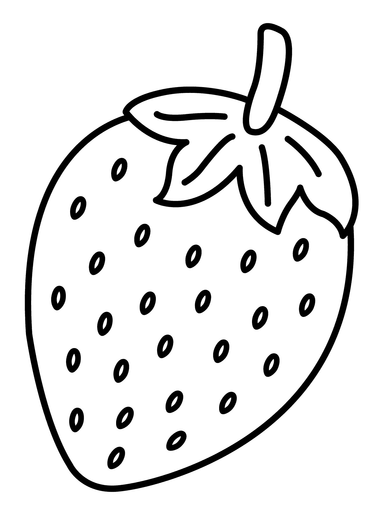 Passion Fruit Colouring Worksheet
