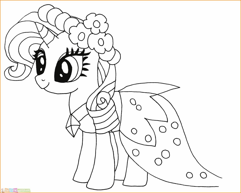 29 Gambar Mewarnai My Little Pony Anak