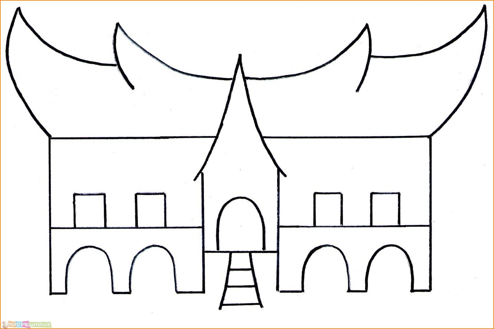 Gambar Rumah Sederhana Anak Sd Rumah Joglo Limasan Work