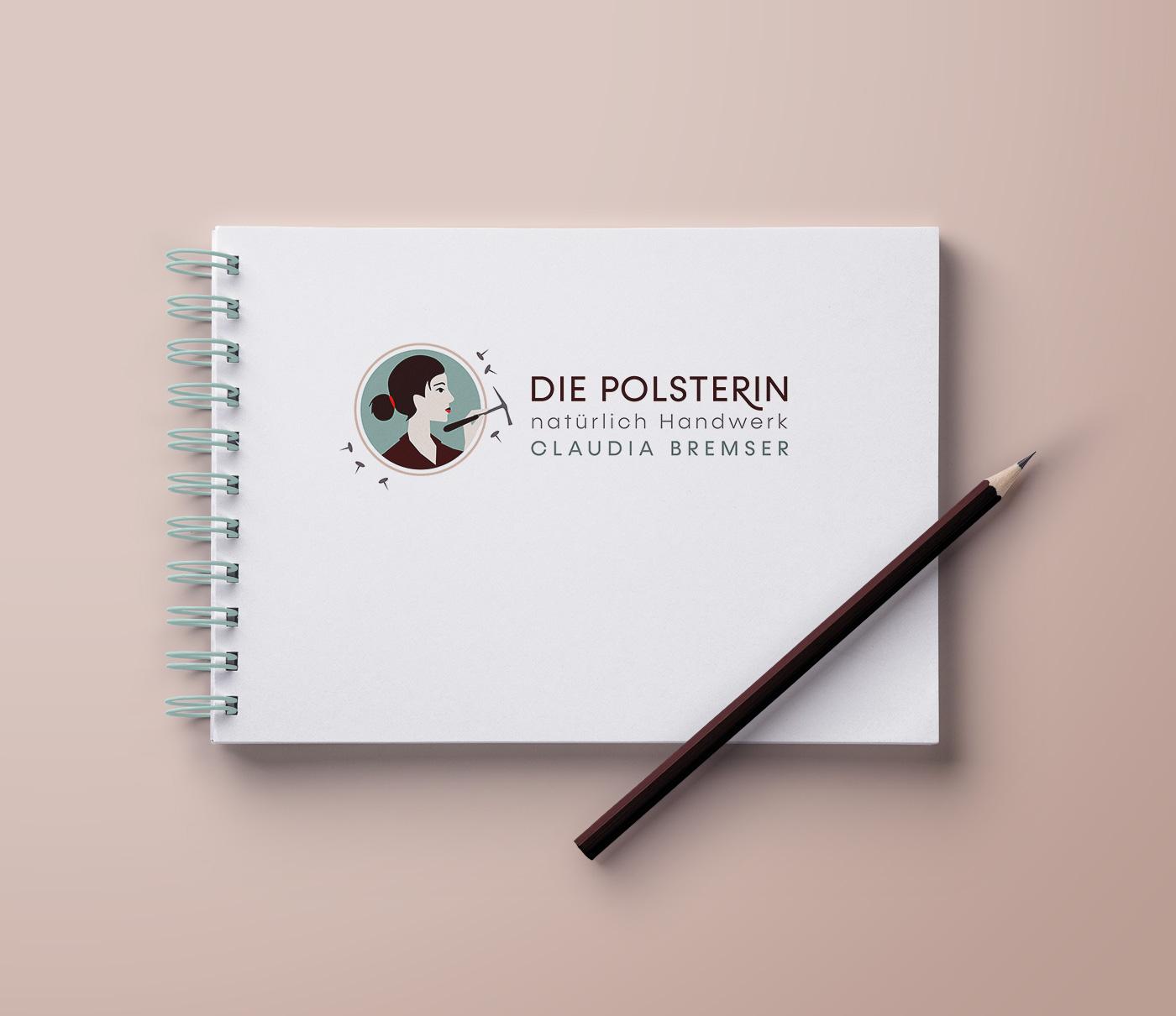 Logo Die Polsterin