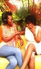 Avec  Josiane Blaba au Nappy meeting XIII