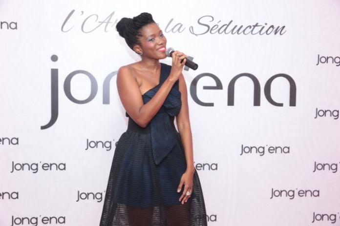 Aicha Rami Keita lors du lancement de sa marque JONG'ENA @Abidjan.net