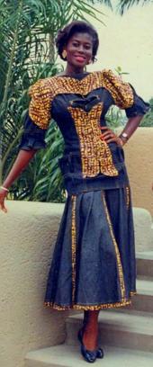 Muriel Edoukou est sacrée Miss Côte d'Ivoire 1989