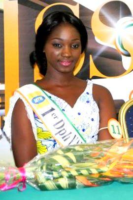 Nikita Legré, première dauphine Yamoussoukro 2017