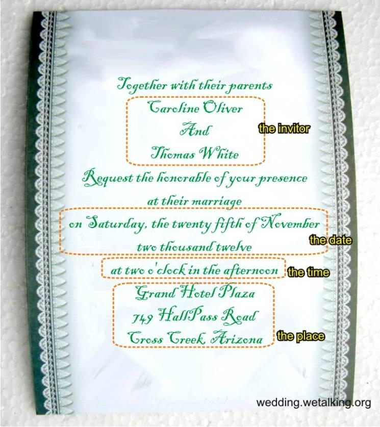 Funny Wedding Invitation Wording For Facebook