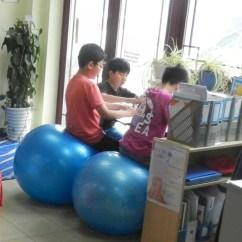 Ergonomic Furniture In The Classroom Yellow Leather Swivel Chair Marinagijzen