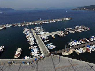 Çanakkale Yat Limanı Havadan