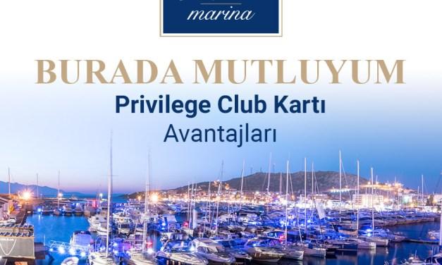 BURADA MUTLUYUM Privilege Club Kartı Avantajları