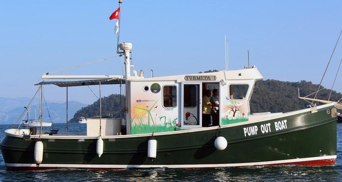 TURMEPA-1 Teknesi Göcek'te Hizmete Devam Ediyor