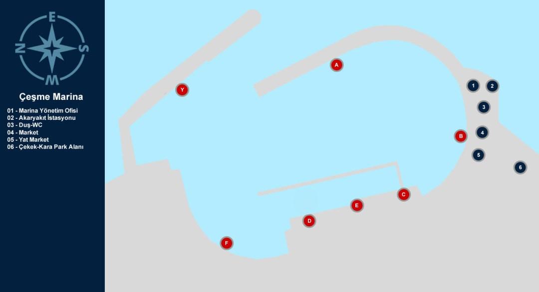 Altınyunus Marina Yerleşim Planı