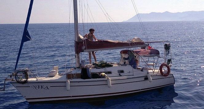 suruklenen tekne kiyi emniyetince kurtarildi