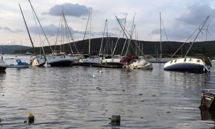 Deprem Sonrası Gelgitlerden Etkilenen Teos Marina'da Son Durum (GÜNCELLENDİ)
