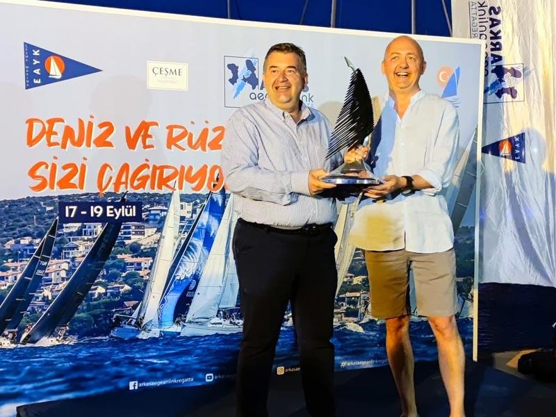 Çeşme Marina'da Gerçekleşen Arkas Aegean Link Regatta 2021 Sona Erdi