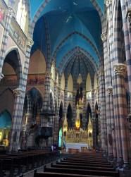 Interior of Iglesia de los Capuchinos